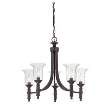 Trudy 5 Light Candle Chandelier