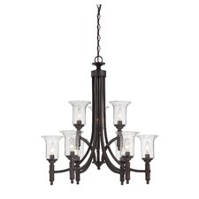 Trudy 9 Light Candle Chandelier