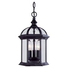 Landry 3 Light Outdoor Hanging Lantern