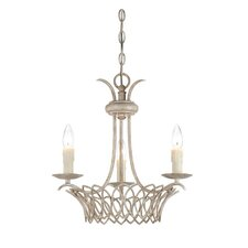 Linwood 3 Light Candle Chandelier