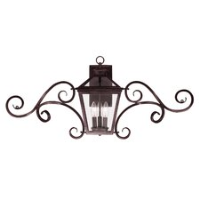 Ontario 3 Light Outdoor Wall Lantern