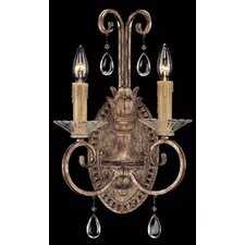 <strong>Savoy House</strong> Antoinette 2 Light Wall Sconce