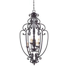 Bedford 6 Light Foyer Pendant
