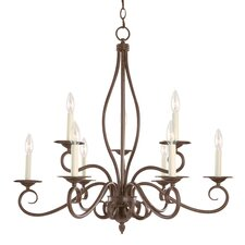 Bryce 9 Light Chandelier