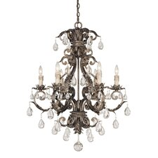 Reed 6 Light Chandelier