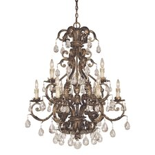 <strong>Savoy House</strong> Chastain 9 Light Chandelier