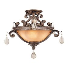 <strong>Savoy House</strong> Chastain Semi Flush Mount