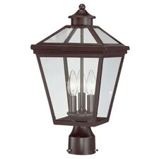 <strong>Savoy House</strong> Ellijay 3 Light Post Lantern