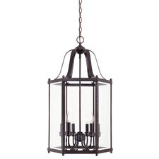 6 Light Foyer Pendant