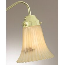 "<strong>Savoy House</strong> 5.25"" x 5.38"" Ceiling Fan Light Glass Shade in Cream"