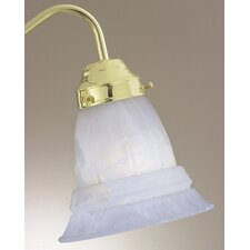 "<strong>Savoy House</strong> 4.63"" x 5.5"" Ceiling Fan Light Glass Shade in Light Steel Blue"