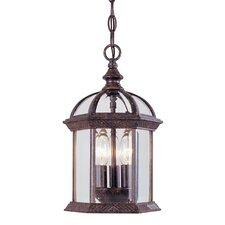Kensington 3 Light Outdoor Hanging Lantern