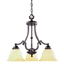 Saville 3 Light Chandelier