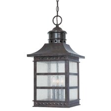 Seafarer 3 Light Outdoor Hanging Lantern