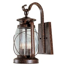 Smith Mountain 3 Light Outdoor Wall Lantern
