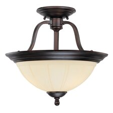 Vanguard 3 Light Semi Flush Mount