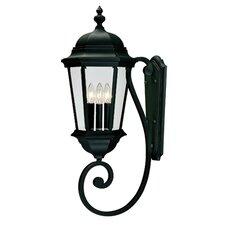 Alice 3 Light Outdoor Wall Lantern