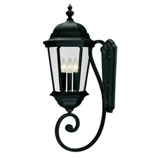 Wakefield 3 Light Outdoor Wall Lantern