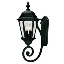 Alice 2 Light Outdoor Wall Lantern