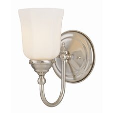 <strong>Savoy House</strong> Brunswick 1 Light Vanity Light