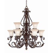 <strong>Savoy House</strong> Cordoba 9 Light Chandelier