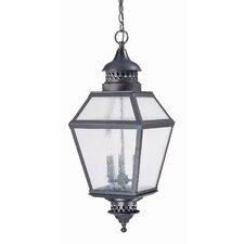 Chimnea 3 Light Outdoor Hanging Lantern