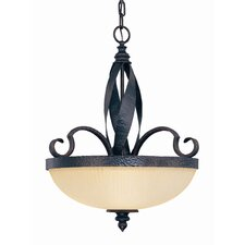 Carmel 4 Light Inverted Pendant