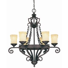 Glen Abbey 6 Light Chandelier