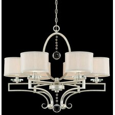 <strong>Savoy House</strong> Rosendal 6 Light Chandelier