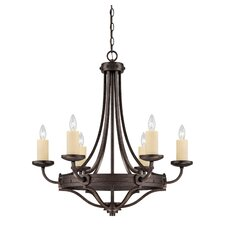 Elba 6 Light Chandelier