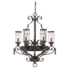 <strong>Savoy House</strong> Highlands 6 Light Chandelier