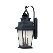 <strong>Savoy House</strong> Barrister 3 Light Outdoor Wall Lantern