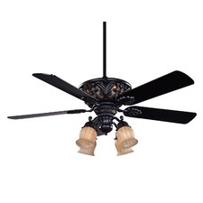"52"" The Galway 5 Blade Ceiling Fan with Remote"