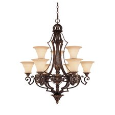 <strong>Savoy House</strong> Southerby 9 Light Chandelier