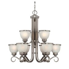 Willoughby 9 Light Chandelier