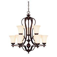 Asher 9 Light Chandelier