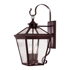 Ontario 3 Light Outdoor Wall Lantern