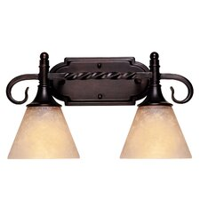 <strong>Savoy House</strong> Essex 2 Light Vanity Light