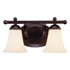 Asher  2 Light Vanity Light