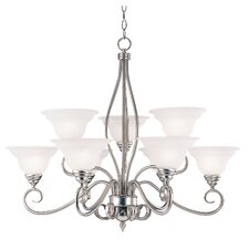 Cooney 9 Light Chandelier