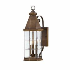 Regent 3 Light Outdoor Wall Lantern