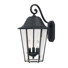 <strong>Savoy House</strong> Truscott 3 Light Outdoor Wall Lantern