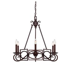 Harmony 6 Light Chandelier