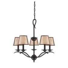 <strong>Savoy House</strong> Kennebec 5 Light Chandelier