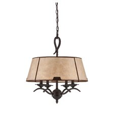 Kennebec 4 Light Drum Chandelier