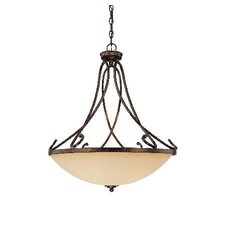 San Marino 4 Light Bowl Pendant