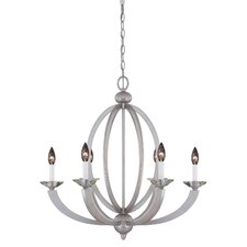 Morgan 6 Light Chandelier