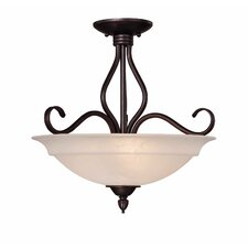 Bryce 3 Light Semi Flush Mount