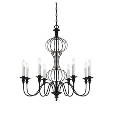 Zinnia 8 Light Chandelier