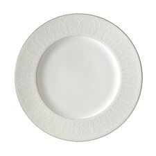 """Ballet Icing Pearl 10.75"""" Dinner Plate"""